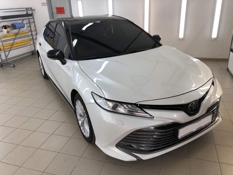 Оклейка автомобилей марки Toyota