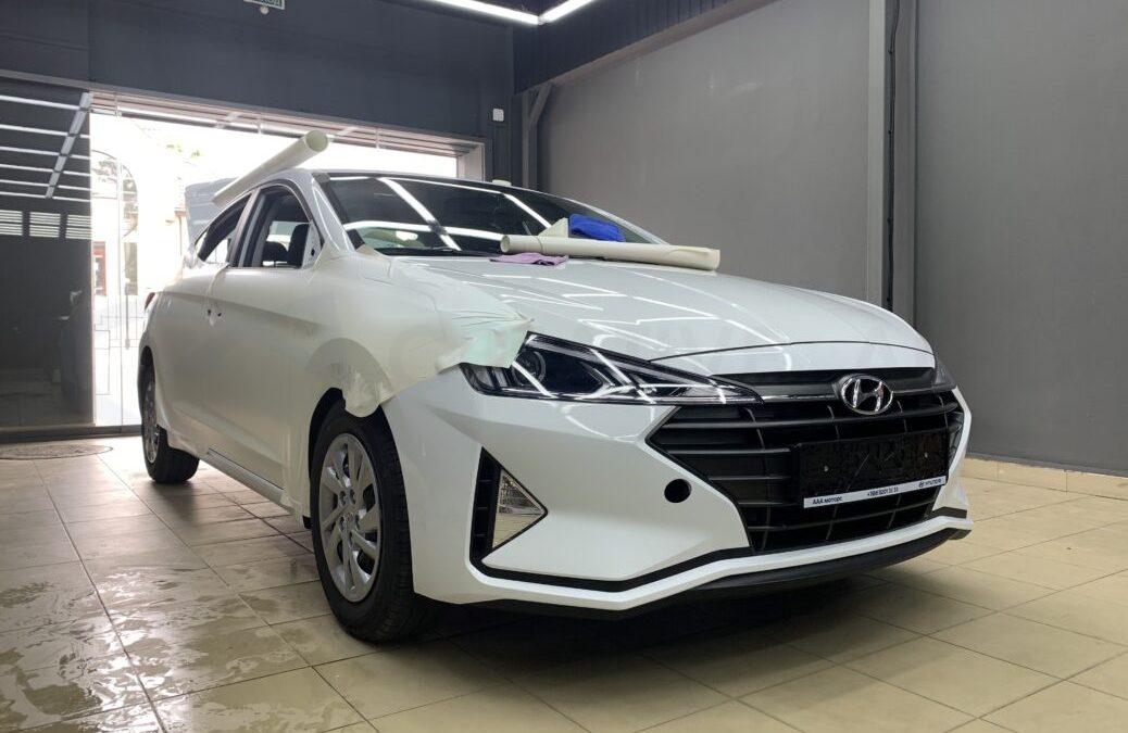 Оклейка автомобилей Hyundai виниловой пленкой
